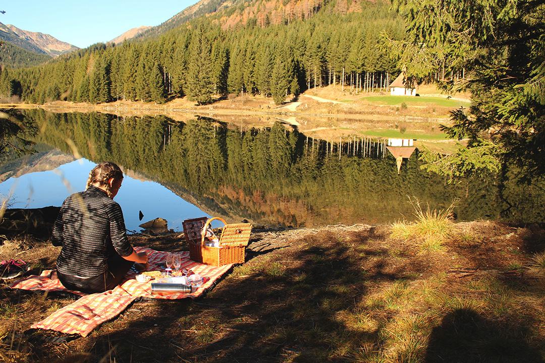Vor dem See Picknik am See