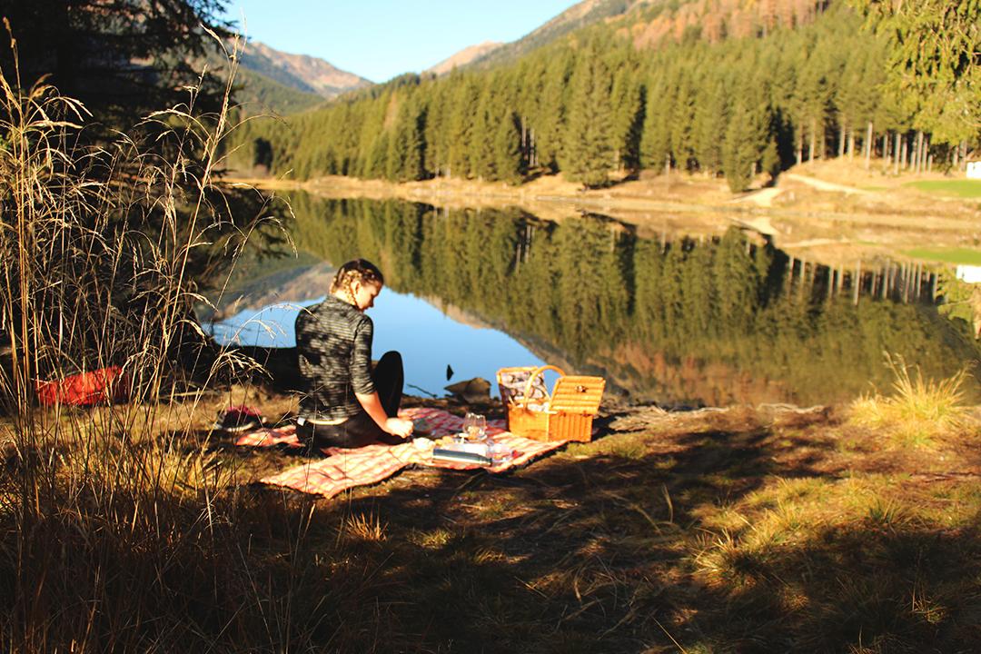 Picknick am Ingerringsee