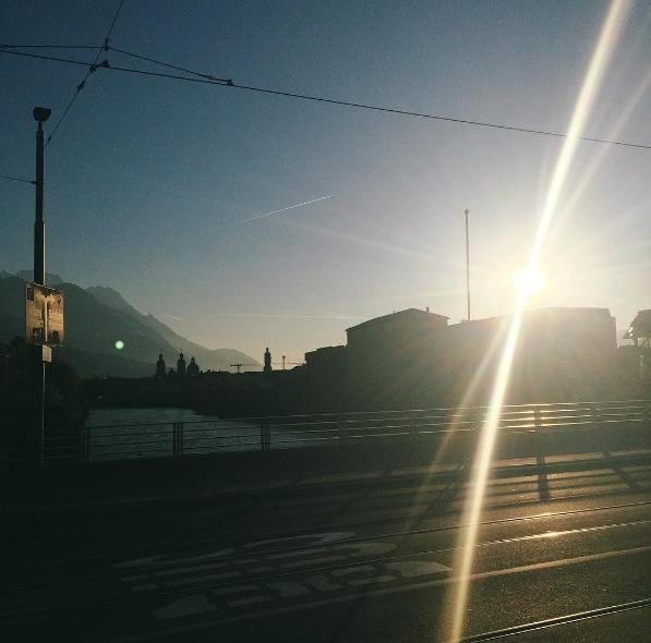 Innsbruck um 06:00 Uhr früh