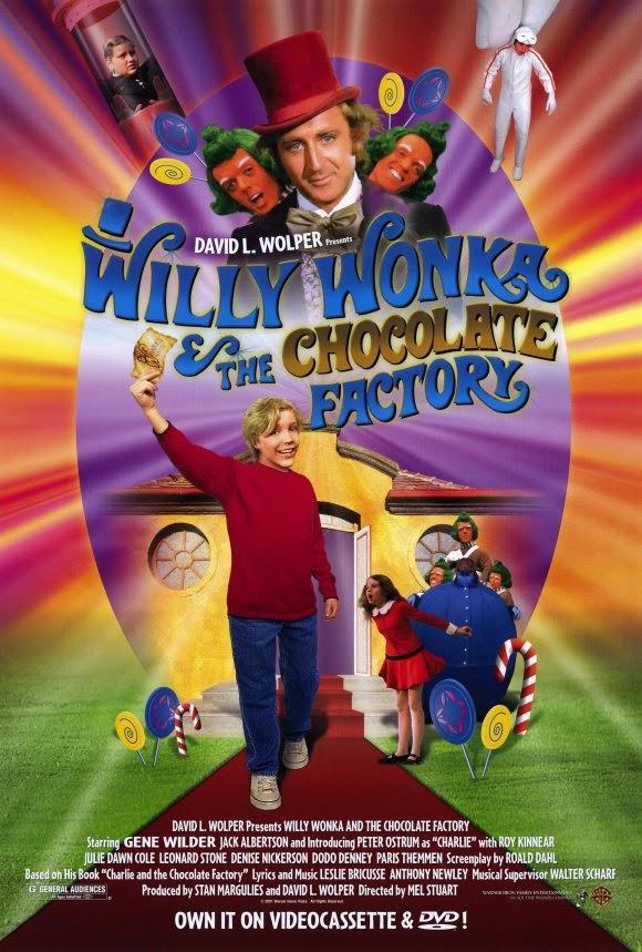 Willi Wonka und die Schokoladen Fabrik
