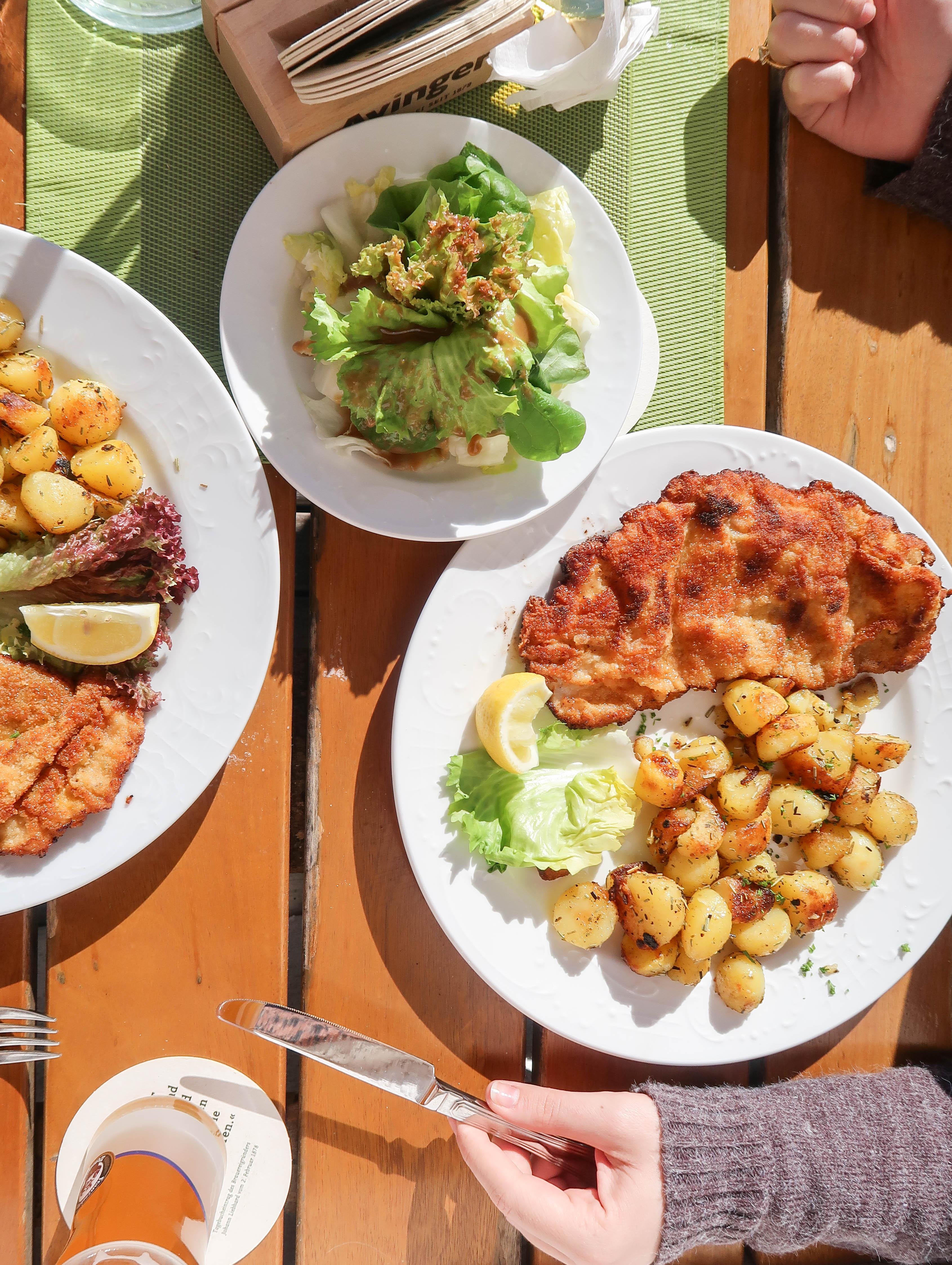Mittagessen beim Walchensee
