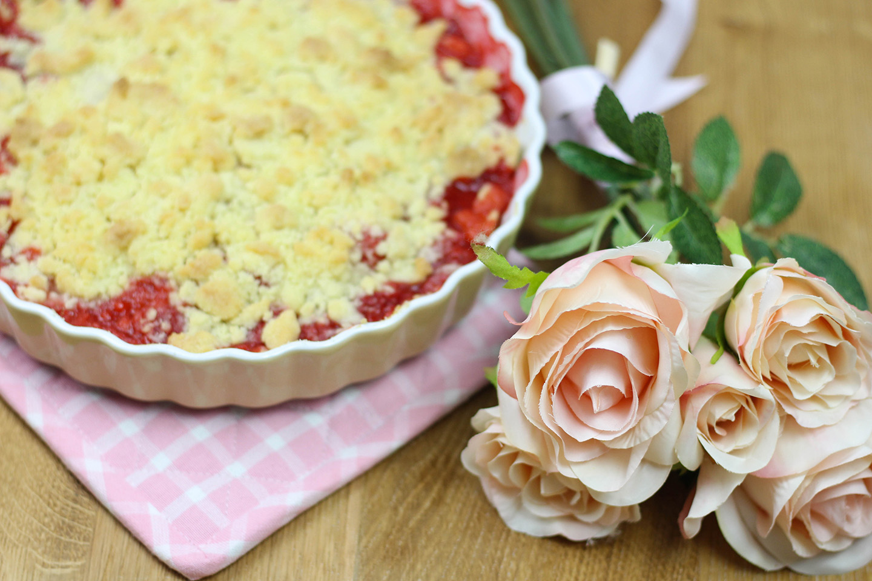 Erdbeer Streusel Kuchen