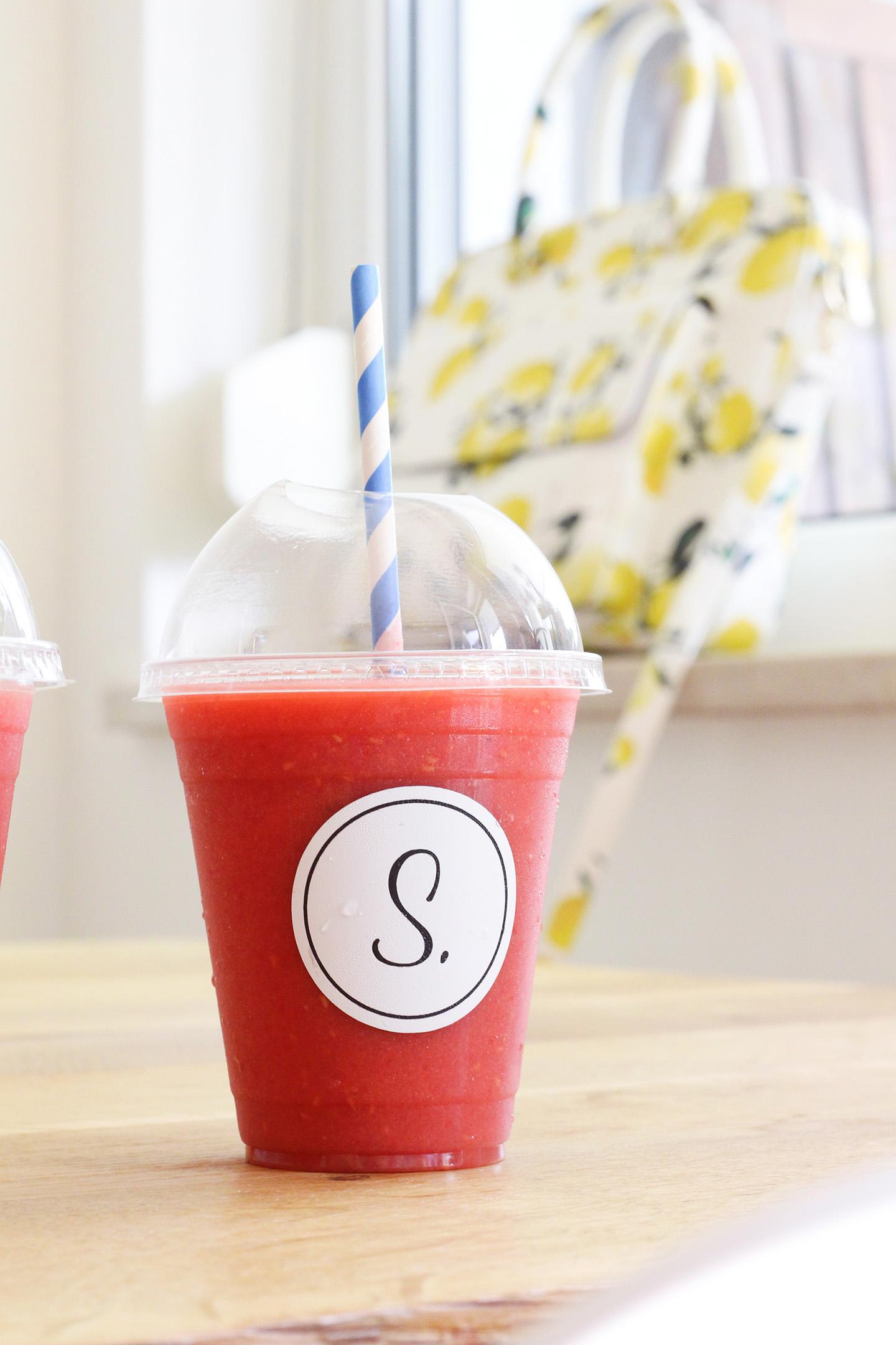 Erdbeer-Mango Smoothie