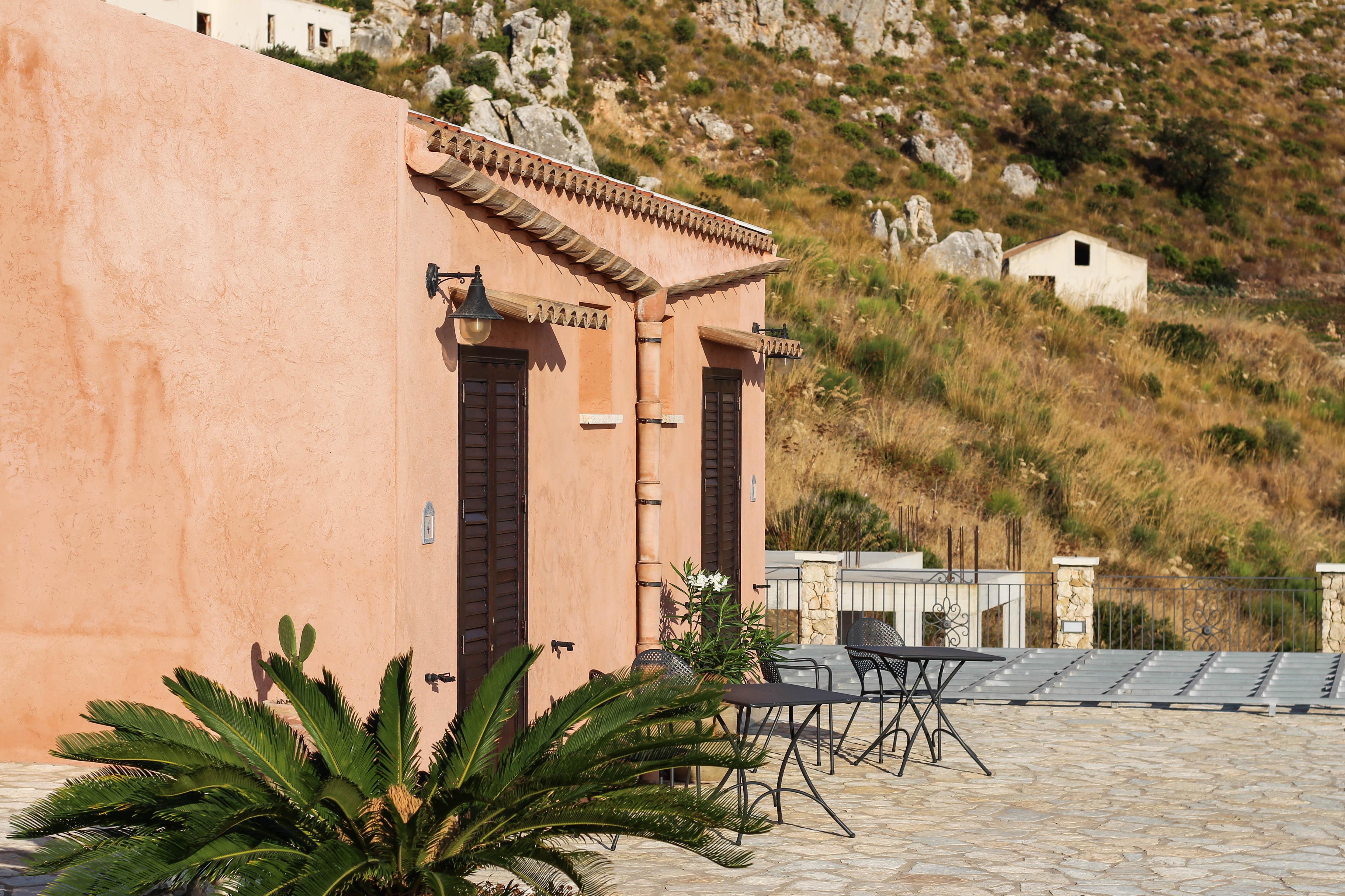 Hotel auf Sizilien