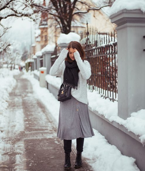 Schnee Outfit